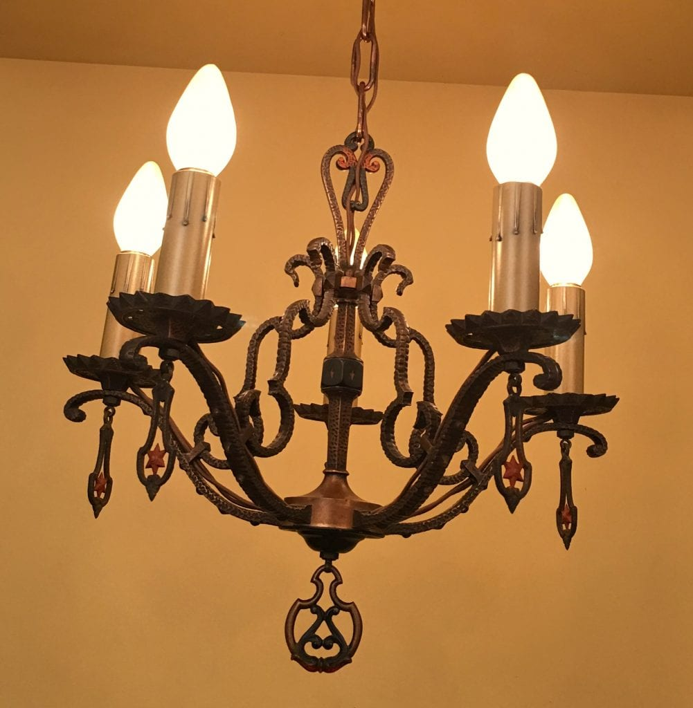 Chandelier archives 1930 chandelier and sconces mozeypictures Gallery