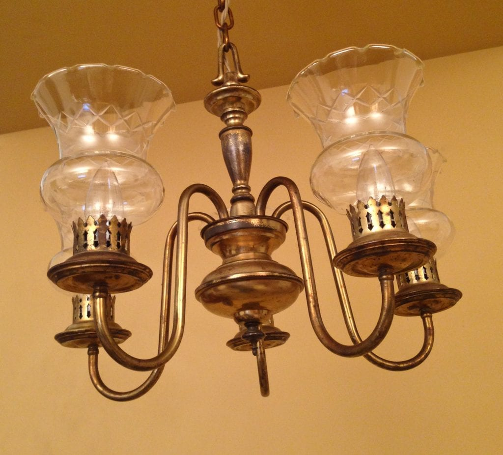 1930 Colonial Revival Chandelier