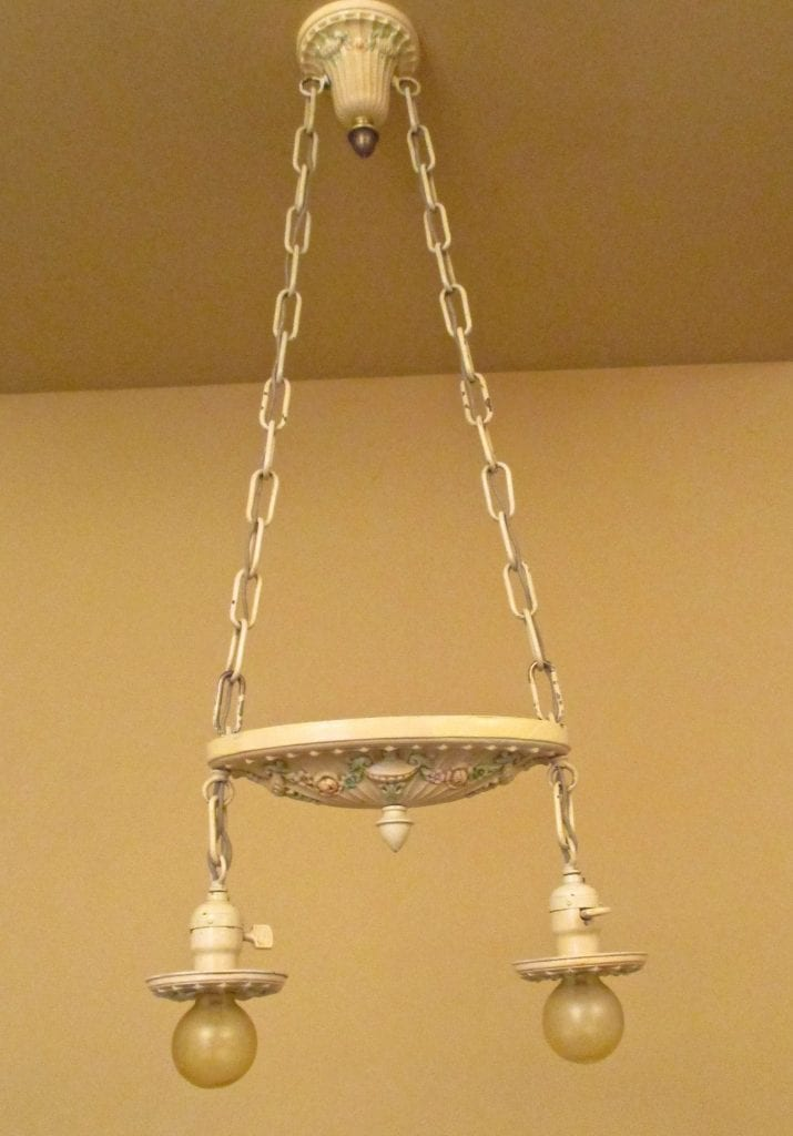 1920s Bedroom Set One Ceiling Fixture Two Sconces