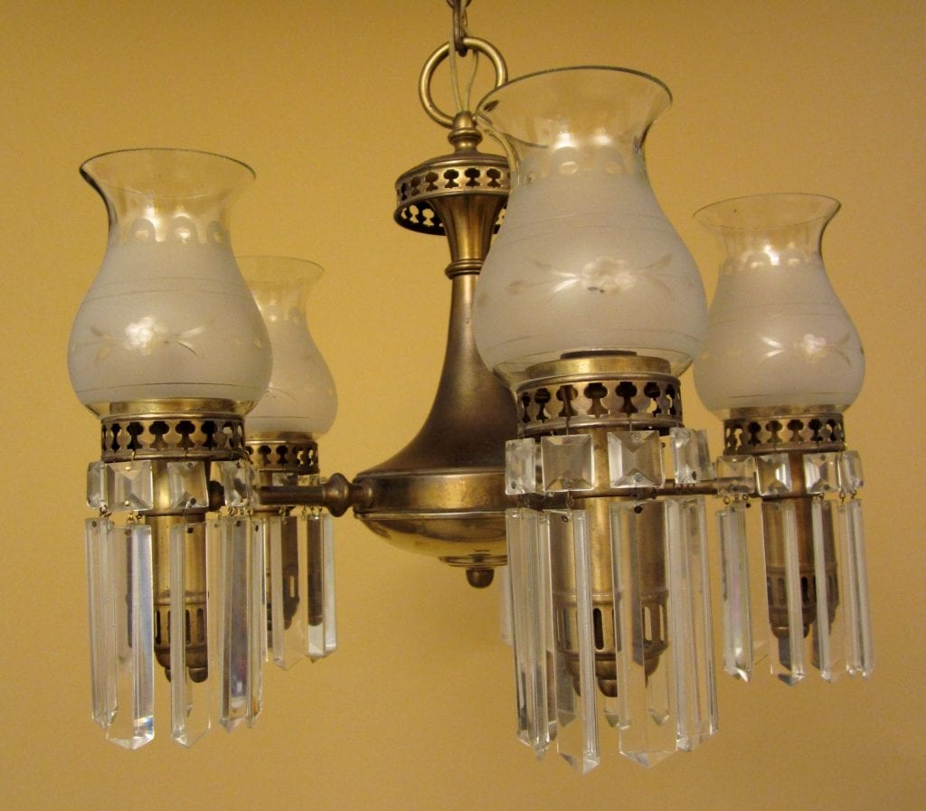 1930s colonial by lightolier 1 chandelier 3 sconces 1930s colonial set by lightolier one chandelier three sconces mozeypictures Gallery