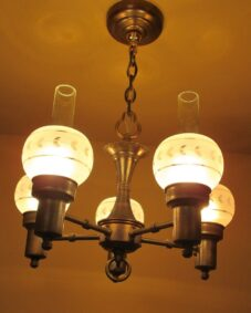 1930s Colonial style chandelier