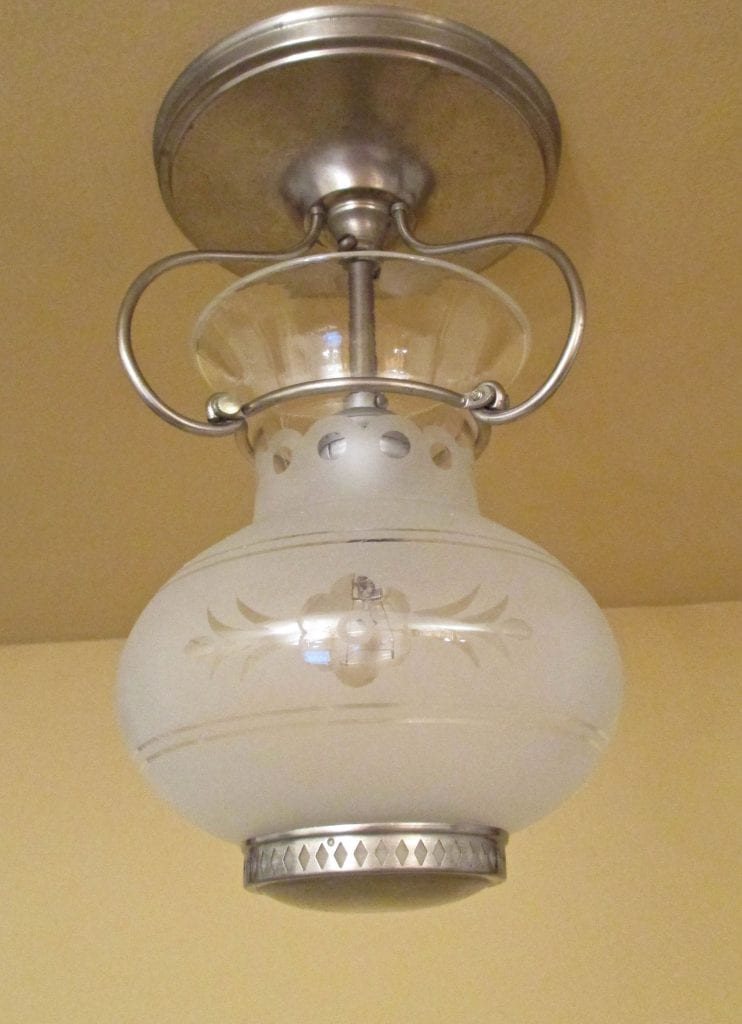 1930s Foyer Hall Fixture By Lightolier