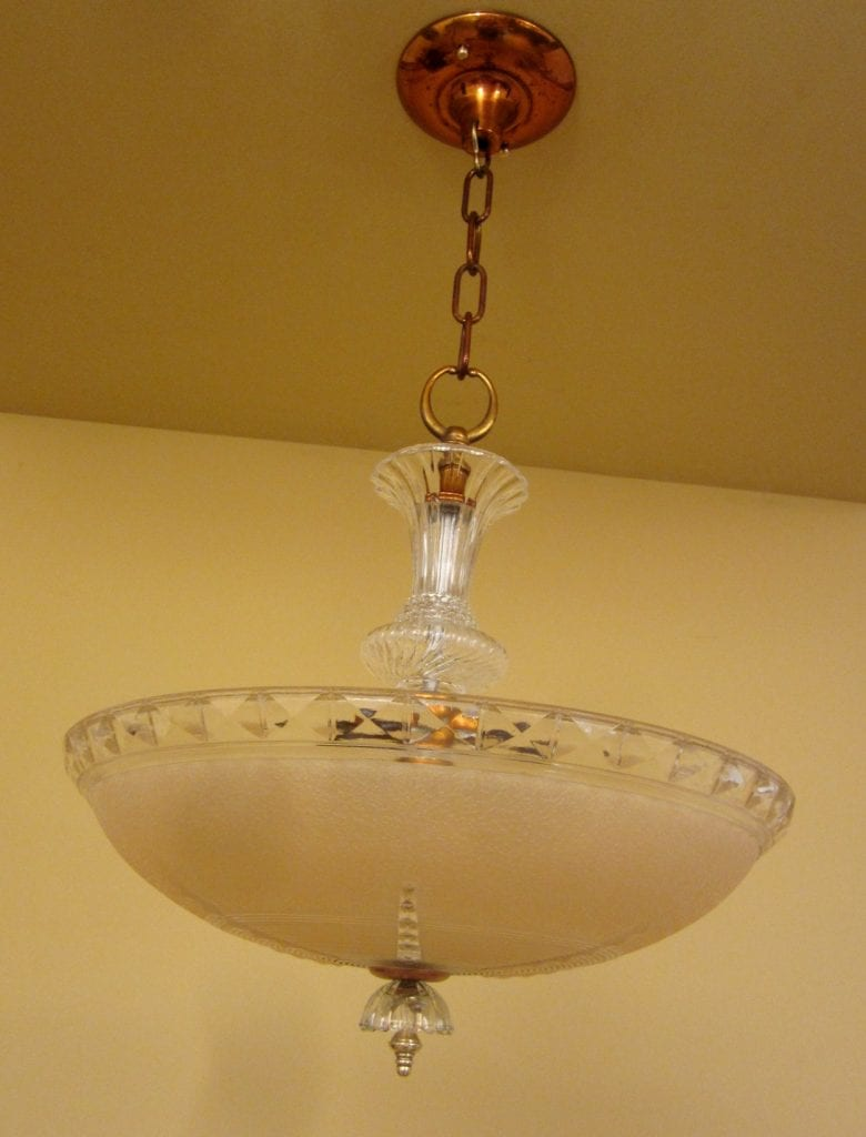 1940s Fixtures By Markel One Chandelier One Pendant