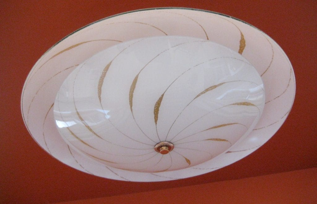 Bistro Globe Bath Sconce 4 Light: 1960s Fixtures. SIX. Restaurant Or Loft?