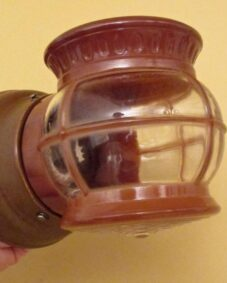 1950s mid-century Porch Light by Porcelier. More Available.