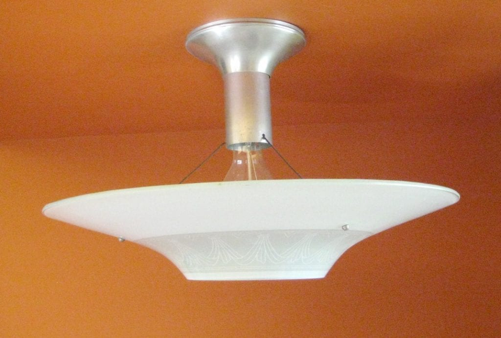 S Lights THREE Great For Kitchen - 1930's kitchen light fixtures