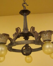 ELEVEN 1930s fixtures by Virden. Including seven sconces. A HOUSEFUL OF LIGHTS!