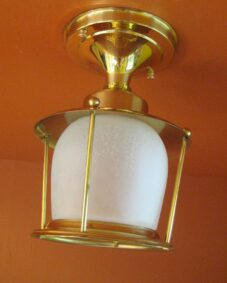 Eames Mid-Century porch/foyer light. NEVER USED! More Available!